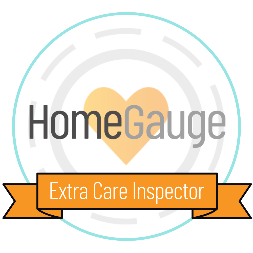 HomeGauge Extra Care Badge