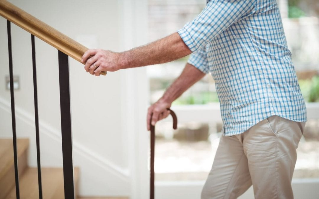 create safe living spaces for seniors with sturdy handrails