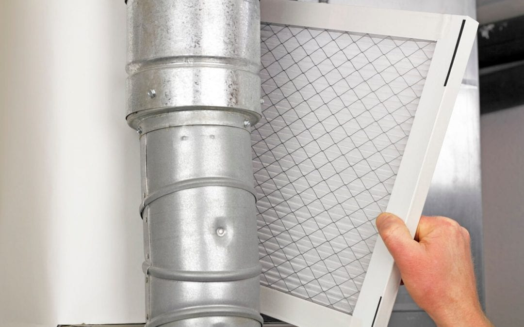 improve indoor air quality by changing HVAC filters